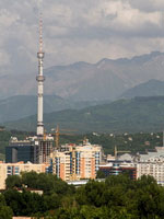 Kok-Tobe and tv-tower, Almaty